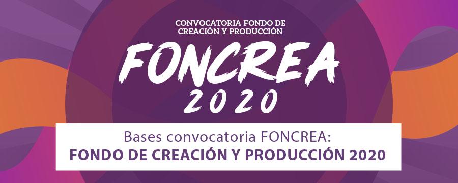 Bases FONCREA 2020